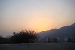 Sunset at Mussoorie
